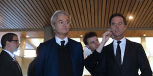 Wilders et Rutte
